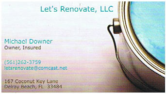 Let's Renovate LLC.
